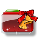 Christmas-Folder-Bells-Stars icon