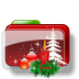 Christmas-Folder-Candle icon