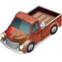Truck-with-Dog icon