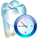 Temporary-tooth icon