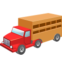 Cow-wagon icon