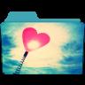 Folder-Heart icon