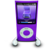 IPodPhonesPurple icon