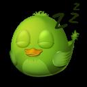 Adium-Bird-Sleep icon