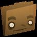 Folder-brown icon