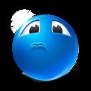 Sarcastic-sadness icon