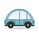 Car-blue icon