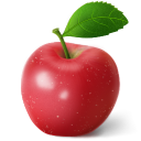 Apple-red icon