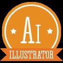 A-illustrator icon