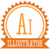 B-illustrator icon