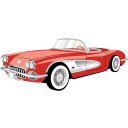 Car-Chevrolet-Corvette-Cabriolet icon