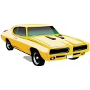 Muscle-Car-Pontiac-GTO icon