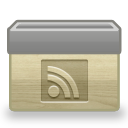 Folder-RSS icon