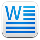 MS-word icon