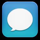 Message-blue icon