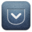 Pocket-alt-Demin icon