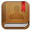 Contacts-book icon