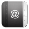 Contacts-black-2 icon