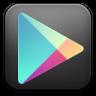 Google-play-black icon