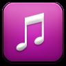 Music-purple icon