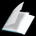 Documents-bleu icon