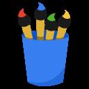 Media-paint icon