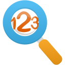 Magnifying-glass icon