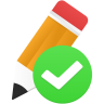 Edit-validated icon