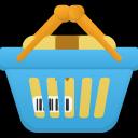 Shopping-basket-full icon