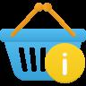 Shopping-basket-info icon