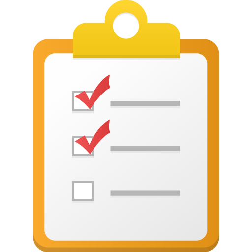 Checklist Icon Ico Png Icns Icon Pack Download