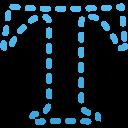 Horizontal-type-mask-Tool icon