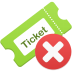 Remove-ticket icon