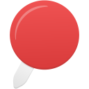 Pin-red icon