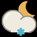 Lightsnow-night icon