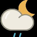 Drizzle-night icon