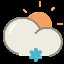 Light-snow-day icon