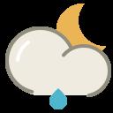 Lightrain-night icon