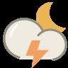 Thunder-night icon