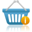 Shopping-basket-info icon