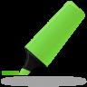 Highlightmarker-green icon