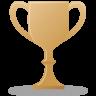 Trophy-bronze icon
