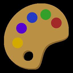 Brush icon, paint icon, paint brus icon