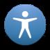 Button-access icon