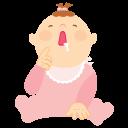 Baby-vomit icon