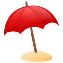 Sun-umbrella icon