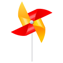 Wind-mill icon