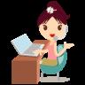 Callcenter-girls-flower icon