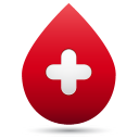 Blood-drop icon