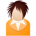 Orange-girl icon